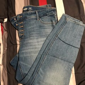 Old Navy... brand new, plus size jeans.